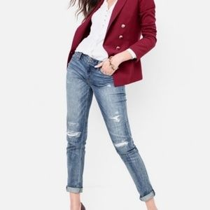 WHBM - Distressed Jeans with Silver Details